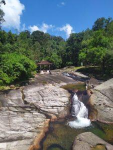 Семь колодцев водопад