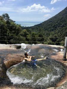 Лангкави водопад 7 колодцев