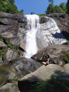 Водопад Лангкави 7 колодцев