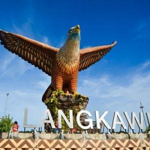 Площадь Орла на Лангкави