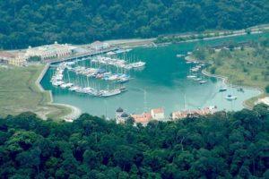 порт на острове лангкави