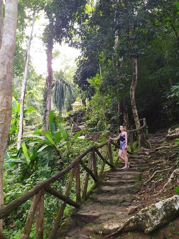 водопад дуриан