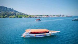 Паромы из порта Куах Лангкави