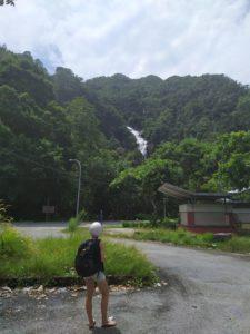 Вид с парковки на Темурун