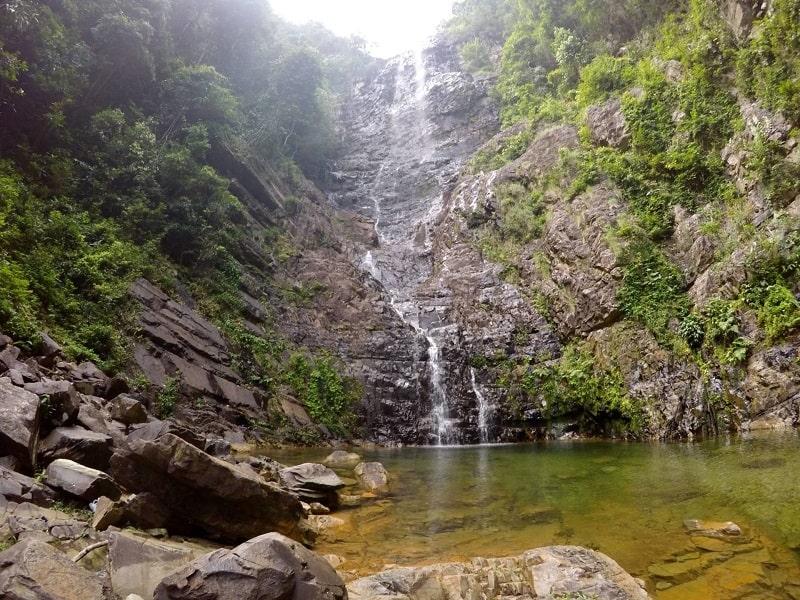 Водопад Темурун сухой сезон