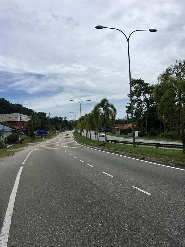 какие дороги на лангкави