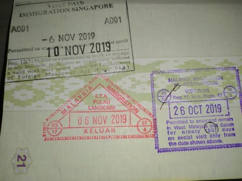 виза на лангкави в малайзию