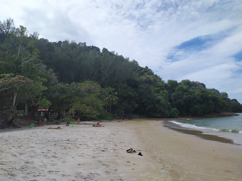 Пасир Тенгорак пляж лангкави
