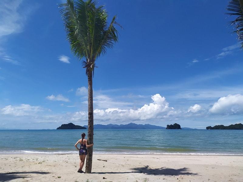 пляж Лангкави Танжунг ру