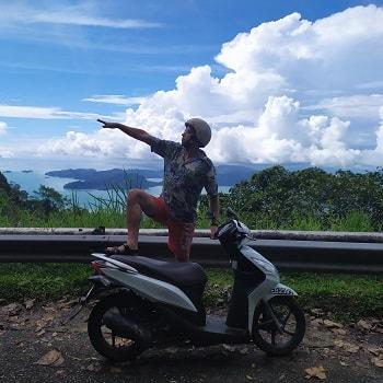 прокат скутера в малайзии