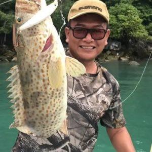 рыбалка в малайзии