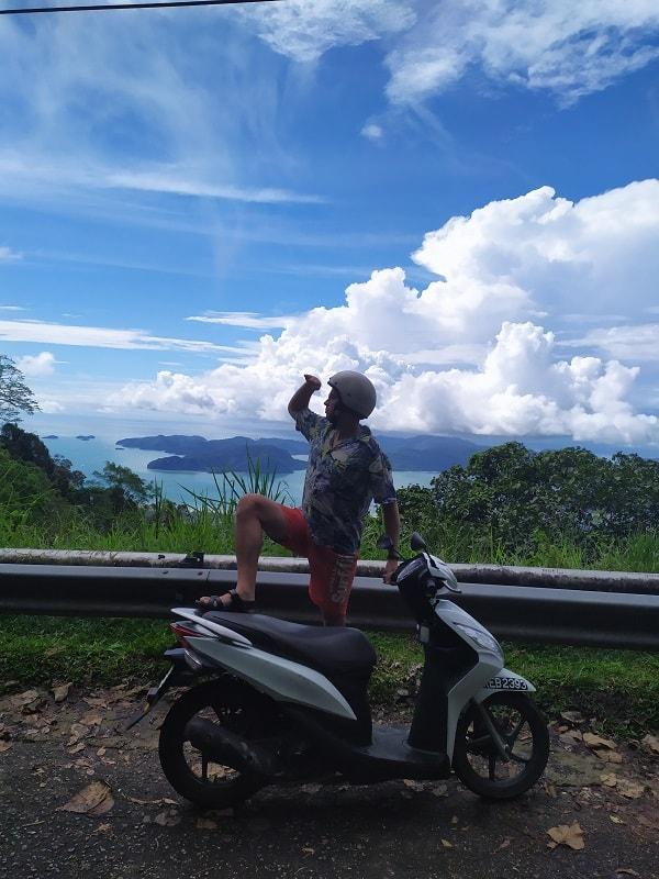 самая высокая точка Лангкави Gunung Raya