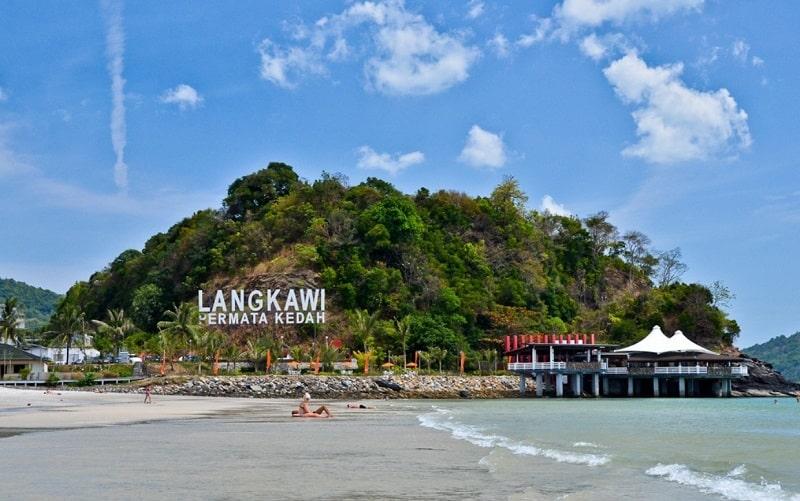 Карта мира и Лангкави