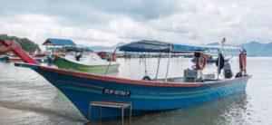 океанская рыбалка на лангкави