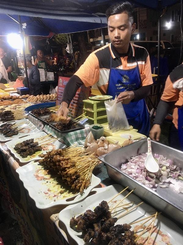 рынок Лангкави с едой