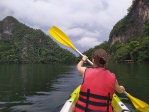 озеро беременой девы каякинг
