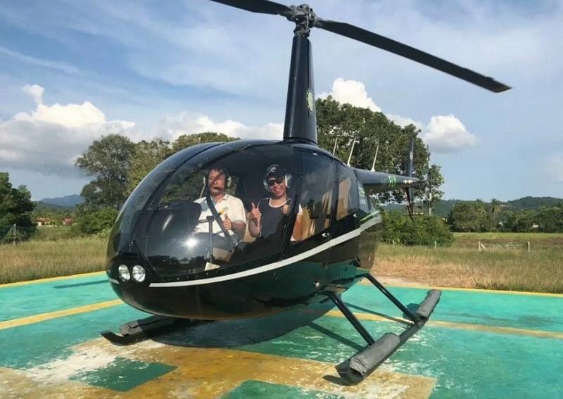 прокат вертолета лангкави