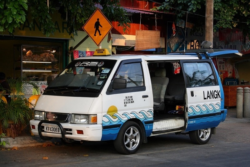 Такси на Лангкави